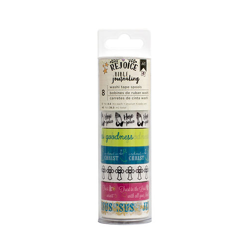 American Crafts - Bible Journaling Collection - Washi Tape Spool - Amen