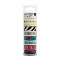 American Crafts - Bible Journaling Collection - Washi Tape Spool - Edgy