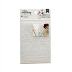 American Crafts - Bible Journaling Collection - Stencils - Believe