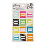 American Crafts - Bible Journaling Collection - Clear Stickers - Tabs