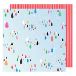 American Crafts - On A Whim Collection - 12 x 12 Double Sided Paper - Sprinkle
