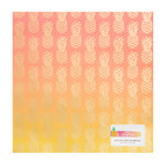 American Crafts - On A Whim Collection - 12 x 12 Single Sided Ombre Foil Paper