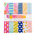 American Crafts - On A Whim Collection - 6 x 6 Paper Pad