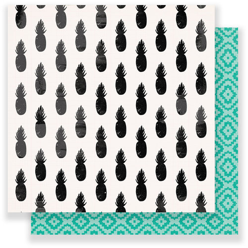 Crate Paper - Oasis Collection - 12 x 12 Double Sided Paper - Sunshine