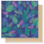 Crate Paper - Oasis Collection - 12 x 12 Double Sided Paper - Tropic