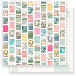 Crate Paper - Oasis Collection - 12 x 12 Double Sided Paper - Postcard