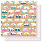 Crate Paper - Oasis Collection - 12 x 12 Double Sided Paper - Highway