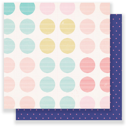 Crate Paper - Oasis Collection - 12 x 12 Double Sided Paper - Coastal
