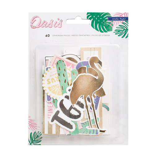 Crate Paper - Oasis Collection - Ephemera with Foil Accents