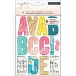 Crate Paper - Magnet Studio Collection - Alpha Clings - Multi Color