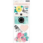 Crate Paper - Magnet Studio Collection - Cling Book - Accents