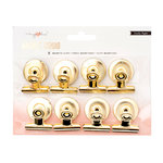 Crate Paper - Magnet Studio Collection - Gold Clips