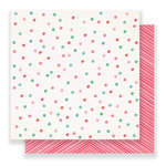 Crate Paper - Falala Collection - Christmas - 12 x 12 Double Sided Paper - Very Merry