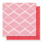 Crate Paper - Falala Collection - Christmas - 12 x 12 Double Sided Paper - Twinkle