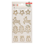 Crate Paper - Falala Collection - Christmas - Paperclips