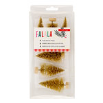 Crate Paper - Falala Collection - Christmas - Brush Trees