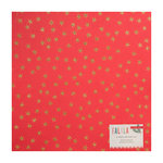Crate Paper - Falala Collection - Christmas - 12 x 12 Cardstock with Glitter Accents