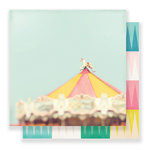 Crate Paper - Carousel Collection - 12 x 12 Double Sided Paper - Magical