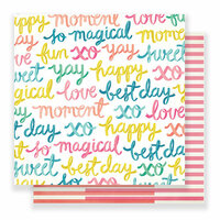 Crate Paper - Carousel Collection - 12 x 12 Double Sided Paper - Happy-Go-Lucky