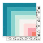 Crate Paper - Carousel Collection - 12 x 12 Double Sided Paper - Ferris Wheel
