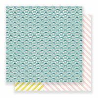 Crate Paper - Carousel Collection - 12 x 12 Double Sided Paper - Sprinkles