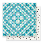 Crate Paper - Carousel Collection - 12 x 12 Double Sided Paper - Kaleidoscope