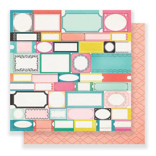 Crate Paper - Carousel 12 x 12 Paper - Festival