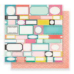 Crate Paper - Carousel Collection - 12 x 12 Double Sided Paper - Festival