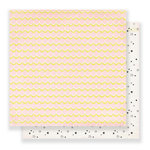 Crate Paper - Carousel Collection - 12 x 12 Double Sided Paper - Starbright