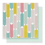 Crate Paper - Carousel Collection - 12 x 12 Double Sided Paper - Dazzle