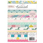 Crate Paper - Carousel Collection - 6 x 8 Paper Pad with Foil Accents
