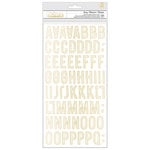 Crate Paper - Carousel Collection - Thickers - Swing - Chipboard - Gold Foil