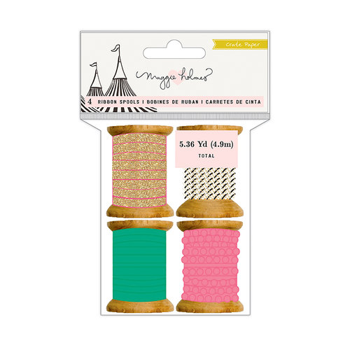 Crate Paper - Carousel Collection - Ribbon Spools