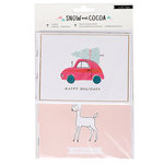 Crate Paper - Snow and Cocoa Collection - Cards and Envelopes