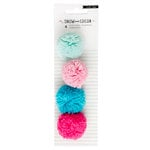 Crate Paper - Snow and Cocoa Collection - Pom Poms