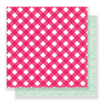 Crate Paper - Main Squeeze Collection - 12 x 12 Double Sided Paper - Just Love