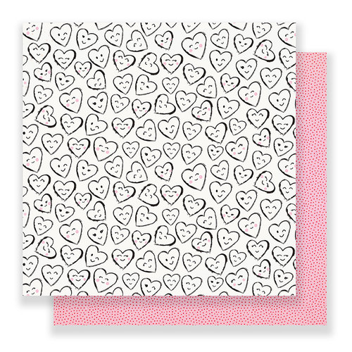 Crate Paper - Main Squeeze Collection - 12 x 12 Double Sided Paper - Crush