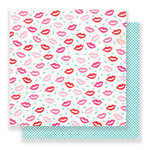 Crate Paper - Main Squeeze Collection - 12 x 12 Double Sided Paper - Smooch