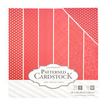 Core'dinations - 12 x 12 Patterned Cardstock - Red - 60 Sheets