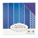 Core'dinations - 12 x 12 Patterned Cardstock - Dark Blue - 60 Sheets