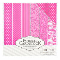 Core'dinations - 12 x 12 Patterned Cardstock - Light Pink - 60 Sheets
