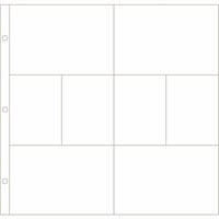 Becky Higgins - Project Life - Photo Pocket Pages - 12 x 12 Design A - 60 Pack