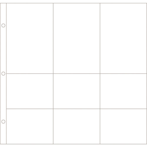 Becky Higgins - Project Life - Photo Pocket Pages - 12 x 12 Design B - 12 Pack