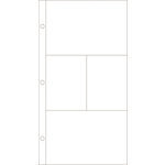 Becky Higgins - Project Life - Photo Pocket Pages - 12 x 6 Design H - 12 Pack