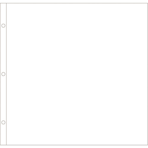 Becky Higgins - Project Life - Photo Pocket Pages - 12 x 12 - 12 Pack
