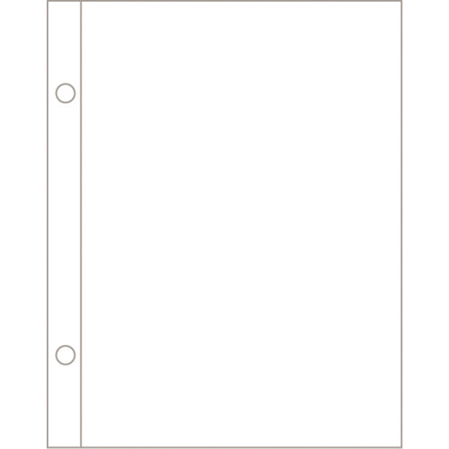 Becky Higgins - Project Life - Photo Pocket Pages - 5 x 7 - Vertical - 12 Pack