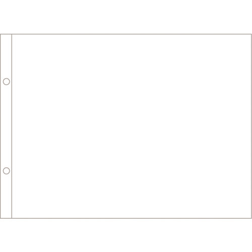 Becky Higgins - Project Life - Photo Pocket Pages - 8 x 10 - Horizontal - 12 Pack