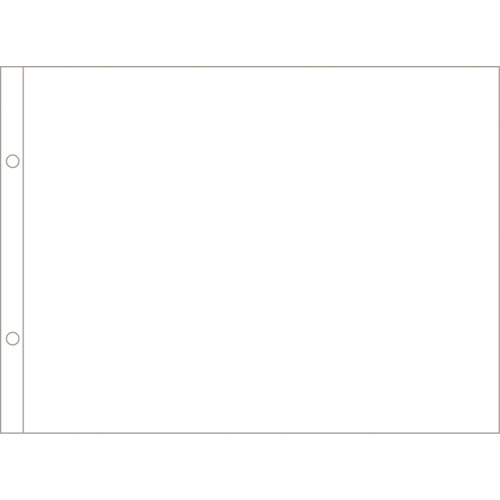 Becky Higgins - Project Life - Photo Pocket Pages - 8.5 x 11 - Horizontal - 12 pack