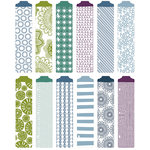 Becky Higgins - Project Life - Rain Collection - Designer Dividers - 12 Pack