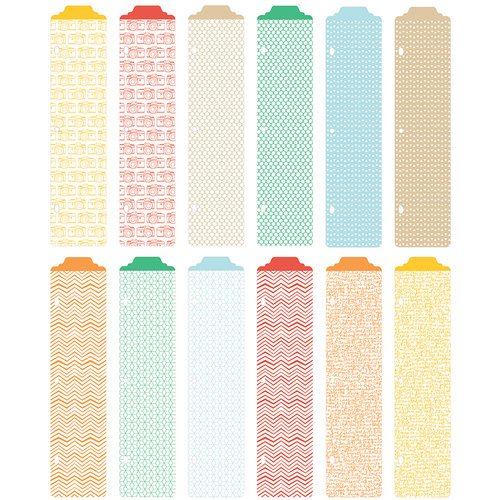 Becky Higgins - Project Life - Jade Edition - Designer Dividers - 12 Pack